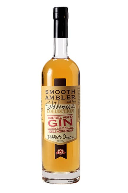 Ginebra Smooth Ambler Stillhouse barrel aged