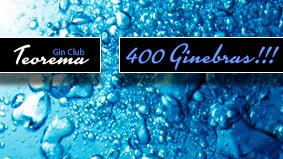 Teorema Pub - 400 Ginebras