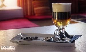 La elegancia de un café
